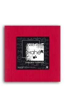 Mahé2-Tintado en masa 30x30 - rojo 1 hoja - Pack 25 h.