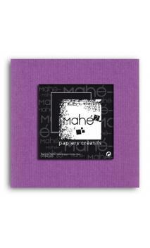 Mahé2-Tintado en masa 30x30 - violeta orquidea 1 hoja - Pack 25 h.