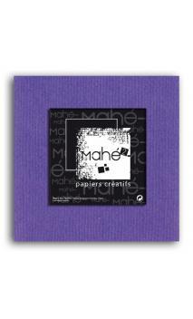 Mahé2-Tintado en masa 30x30 - violeta 1 hoja - Pack 25 h.