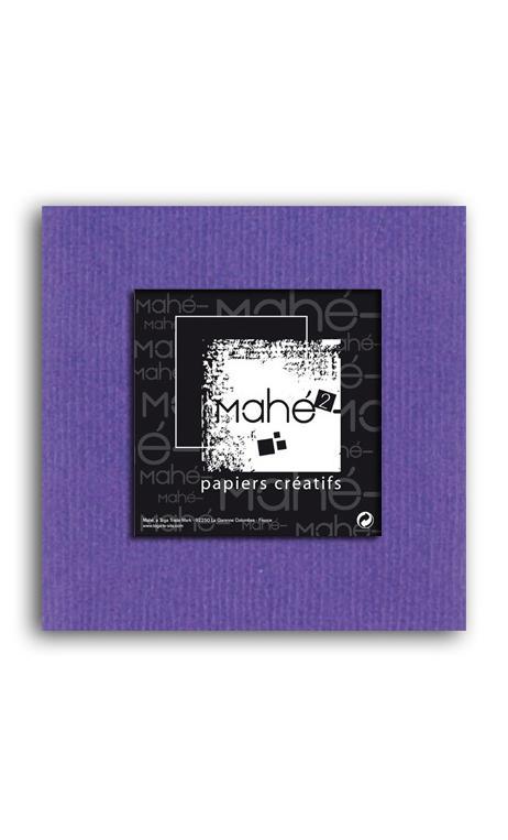 Mahé2-Tintado en masa 30x30 - violeta 1 hoja