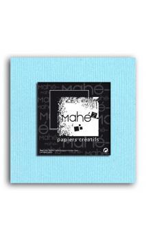 Mahé2-Tintado en masa 30x30 - azul pálido 1 hoja - Pack 25 h.