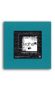 Mahé2-Tintado en masa 30x30 - azul petroleo 1 hoja - Pack 25 h.