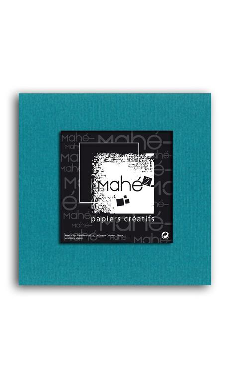 Mahé2-Tintado en masa 30x30 - azul petroleo 1 hoja