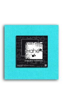 Mahé2-Tintado en masa 30x30 - azul piscina 1 hoja - Pack 25 h.