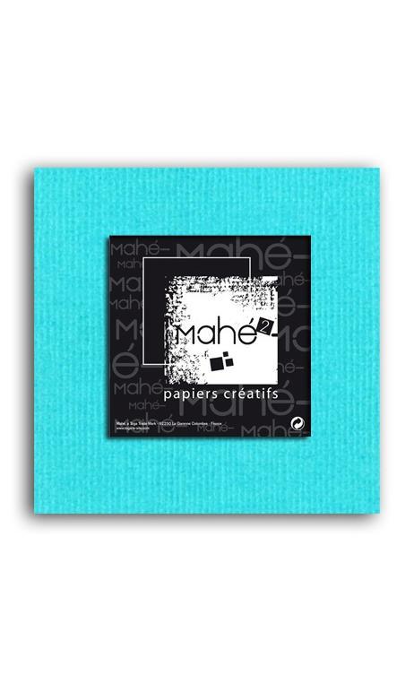 Mahé2-Tintado en masa 30x30 - azul piscina 1 hoja