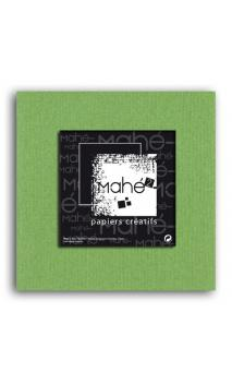 Mahé2-Tintado en masa 30x30 - verde liquen 1 hoja - Pack 25 h.
