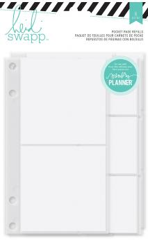 Memory Planner - HS - Hello Beautiful - Pocket Page Refills (6 Piece)