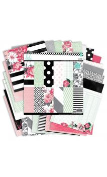 Paper - Patterned - HS - Hello Beautiful - 12 x 12 - 48 sheets