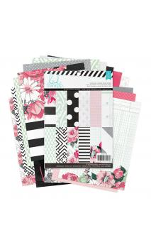 Paper - Patterned - HS - Hello Beautiful - 6 x 8 - 36 sheets