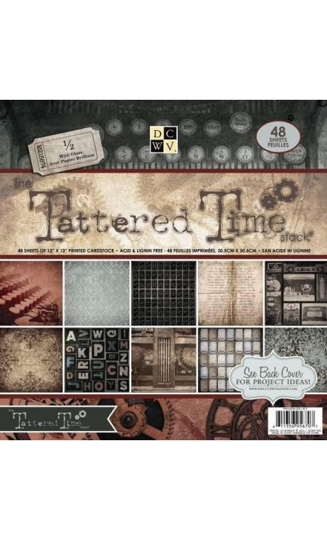 Bloc 30x30 Tattered Times Stack Jas