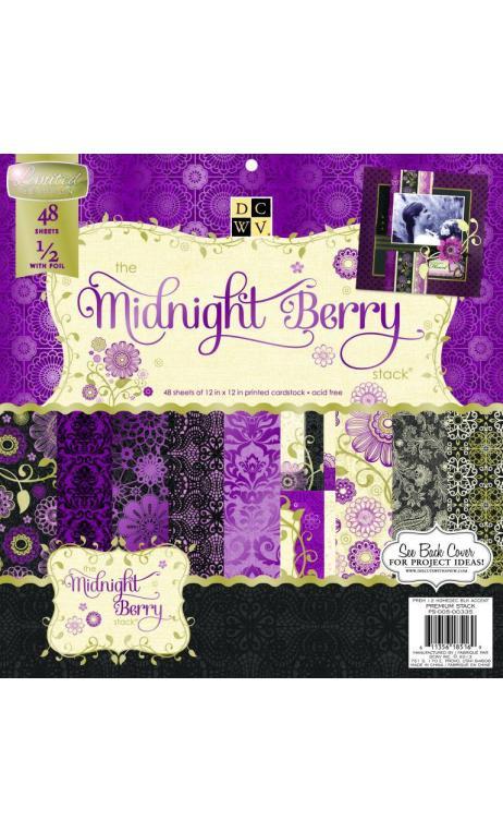 Bloc 30x30 Midnight Berry Stack