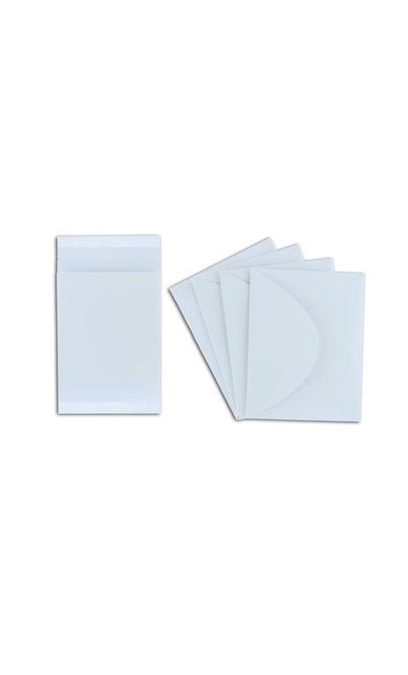 Conjunto 4 cartes + 4 sobres-blanco