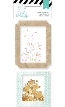 Embellishments - HS - Wanderlust - Shaker Box Sequins (2 Piece)
