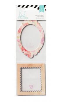Embellishments - HS - Wanderlust - Shaker Box Glitter (2 Piece)