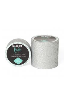 "Marquee Tape - HS - Glitter - 2"" - Silver - 8 Feet"