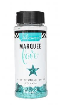 Marquee Glitter - HS - Chunky Glitter Jar - Teal (3 oz)