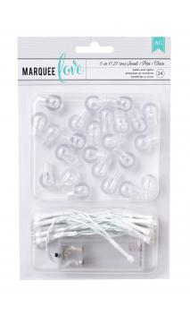 "Marquee Accessories - HS - Light Kit - Small - 44.9"" (24 Bulbs)"