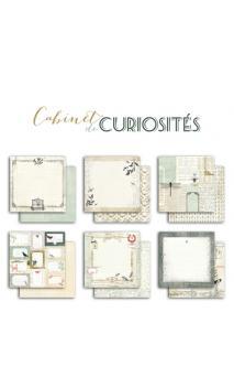 Lote de papel Cabinet de curiosités 30X30 - 1hoja