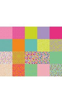 100 papel origami 15x15 pois de senteur