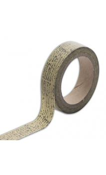 Masking tape escritura vintage - 10m