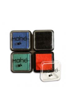 Conjunto 4 almohadillas de tinta negro/rojo/verde/azul