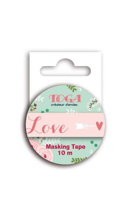 Masking tape love - 10m