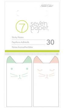 Embellishements - SC - Baxter - 1 x 2 - Sticky Notes (2 Pads)