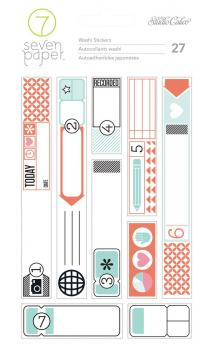 Stickers - SC - Amelia - Washi (3 Sheets)