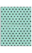 Or de bombay - 6f.  Conjunto de 27,8x21,6 cm – vert/or