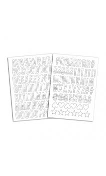 Alfabeto Term. Enjoy - Flex Blanco