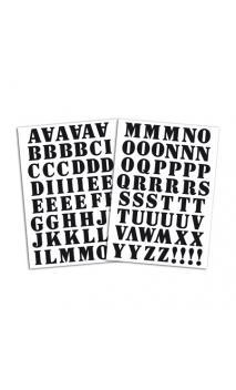 Alfabeto Term. Café- Flex negro