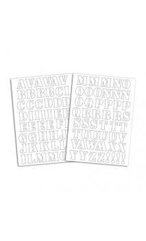 Alfabeto Term. Café - Flex Blanco