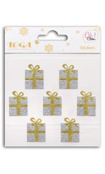 7 regalos glitter Oro/Plata