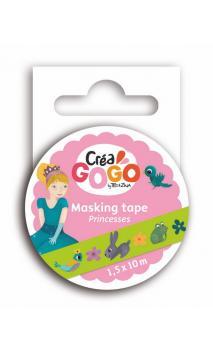 Princesas - masking tape verde