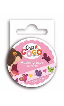 Princesas - masking tape rosa