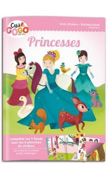 Princesas - libro pegatinas