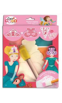 Princesas - Kit pintura mágica