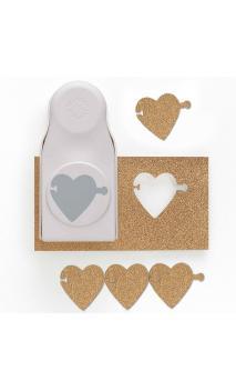 Perforadora de guirnalda corazon