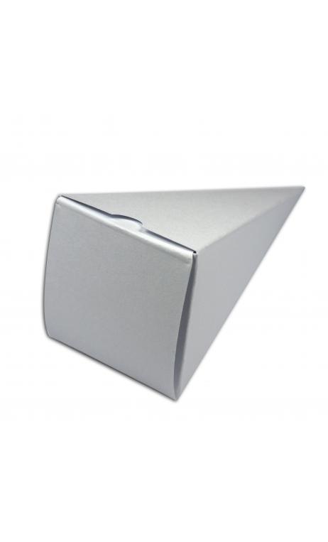 TEMB033 6 conos para caramelos blanco