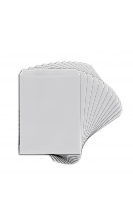 TEMB036 Bolsas papel pequeño formato  blanco