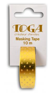 Masking tape or topos Blanco-10m