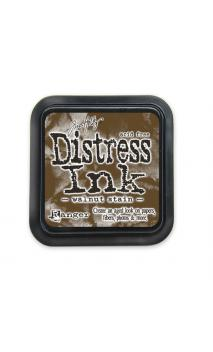 Distress ink walnut stain