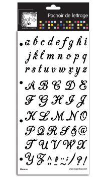 Plantilla de letras Macaron 15x30