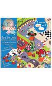 Teo & Zina juego de la Oca Rally bólido