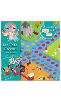 Teo & Zina juego petits chevaux
