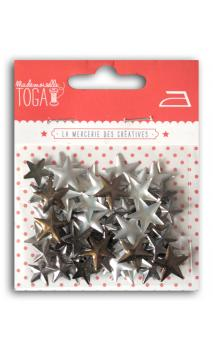 Surtido Tachuelas Estrella térmica 13mm - Bronce-Plata-Antracita