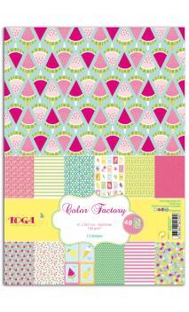 Color Factory A4 - 48 hojas Verano