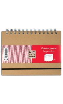 Cuaderno de recetas  18,5X13,5cm 80 Páginas