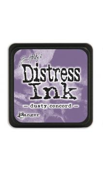 Distress ink mini dusty concord