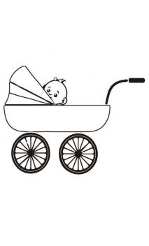 Rubber seal with wooden handle Car Baby